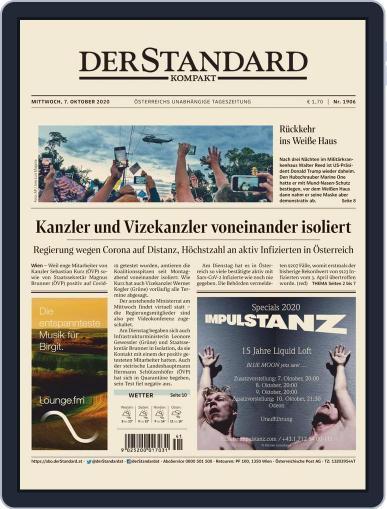 STANDARD Kompakt (Digital) October 7th, 2020 Issue Cover