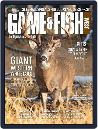 Game & Fish West (Digital) November 1st, 2020 Issue Cover