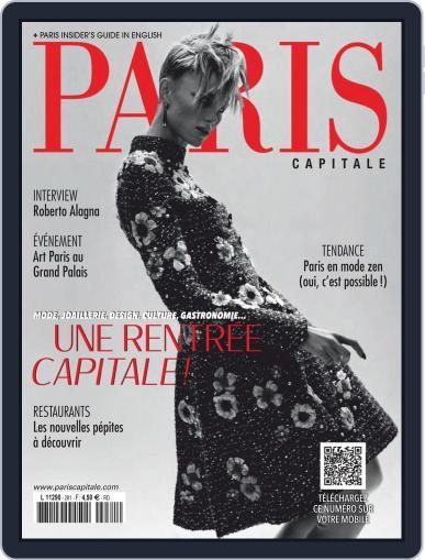 Paris Capitale September 1st, 2020 Digital Back Issue Cover