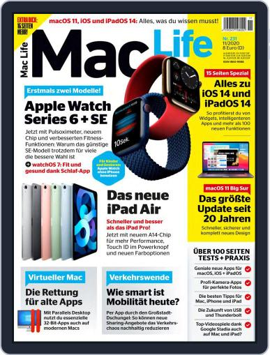 MacLife Germany November 1st, 2020 Digital Back Issue Cover