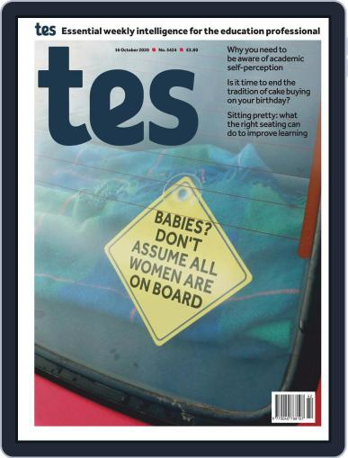 Tes (Digital) October 16th, 2020 Issue Cover