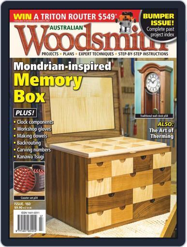 Australian Woodsmith (Digital) November 1st, 2020 Issue Cover