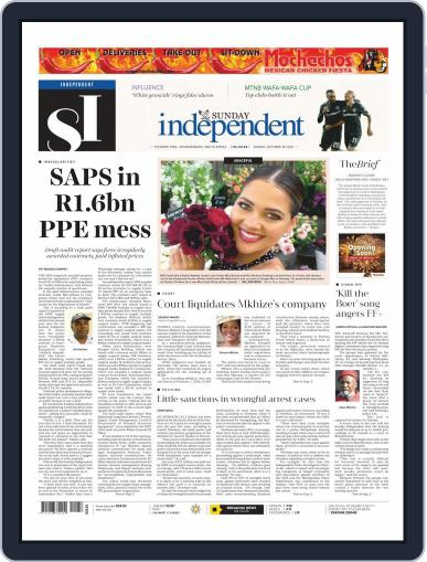 Sunday Independent October 18th, 2020 Digital Back Issue Cover