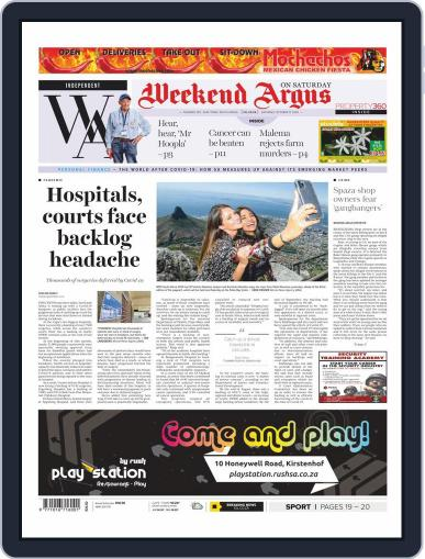 Weekend Argus Saturday (Digital) October 17th, 2020 Issue Cover