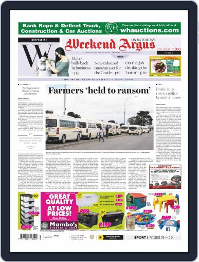 Weekend Argus Saturday (Digital) October 10th, 2020 Issue Cover