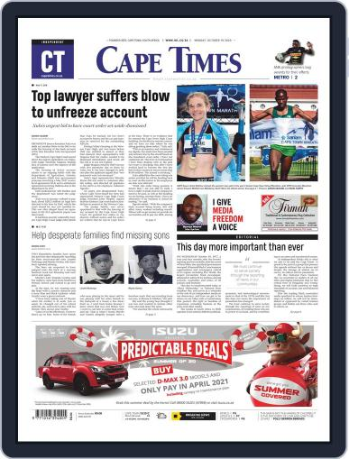 Cape Times (Digital) October 19th, 2020 Issue Cover