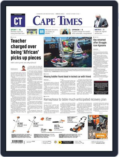 Cape Times October 15th, 2020 Digital Back Issue Cover
