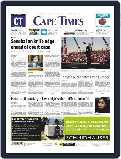 Cape Times (Digital) October 14th, 2020 Issue Cover