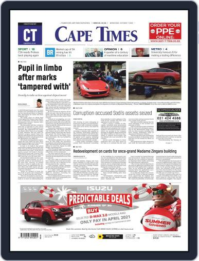 Cape Times (Digital) October 7th, 2020 Issue Cover