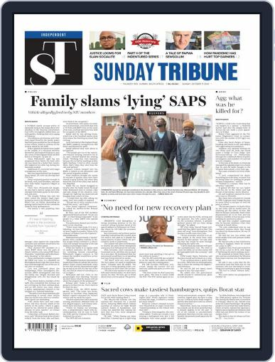 Sunday Tribune (Digital) October 11th, 2020 Issue Cover
