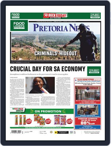Pretoria News (Digital) October 15th, 2020 Issue Cover