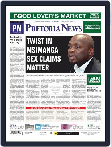 Pretoria News (Digital) October 13th, 2020 Issue Cover