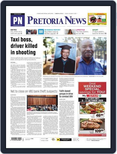 Pretoria News (Digital) October 9th, 2020 Issue Cover