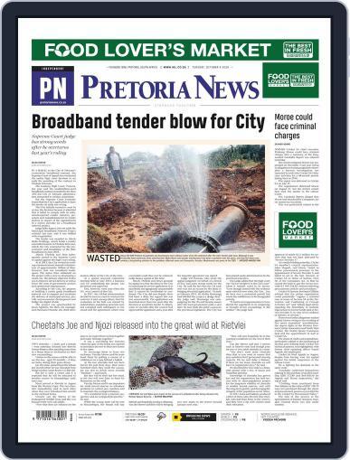 Pretoria News October 6th, 2020 Digital Back Issue Cover