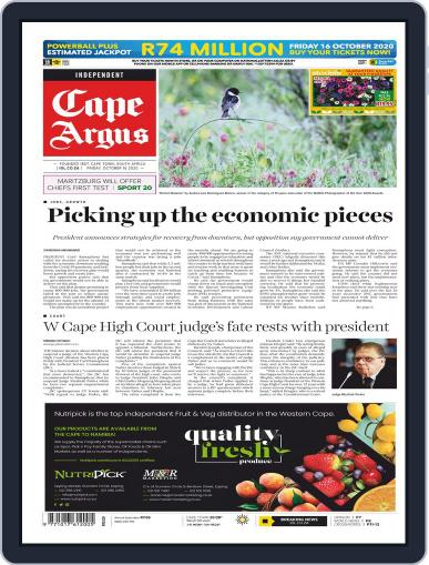 Cape Argus October 16th, 2020 Digital Back Issue Cover