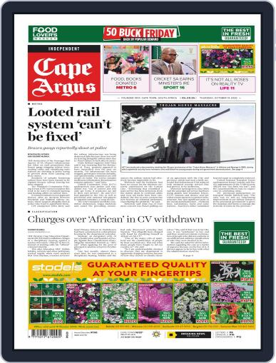 Cape Argus (Digital) October 15th, 2020 Issue Cover