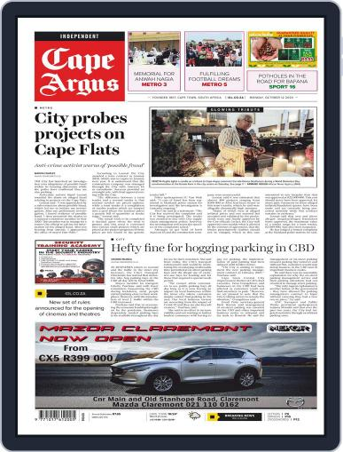 Cape Argus (Digital) October 12th, 2020 Issue Cover