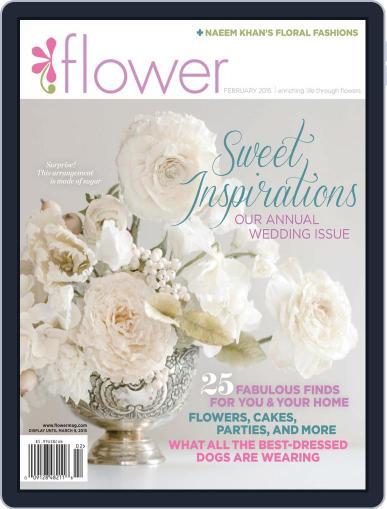 Flower (Digital) January 1st, 2015 Issue Cover