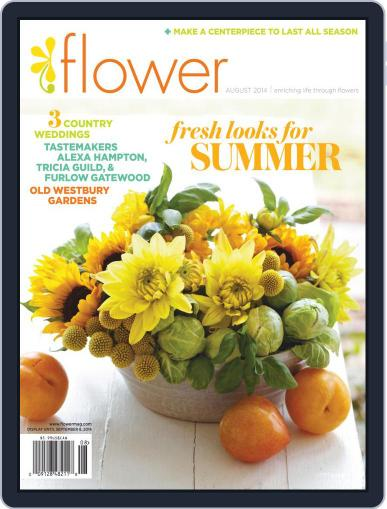 Flower (Digital) July 1st, 2014 Issue Cover