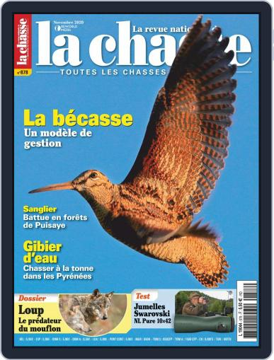 La Revue nationale de La chasse November 1st, 2020 Digital Back Issue Cover