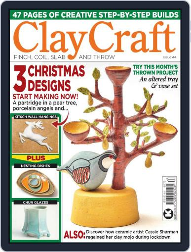 ClayCraft October 13th, 2020 Digital Back Issue Cover