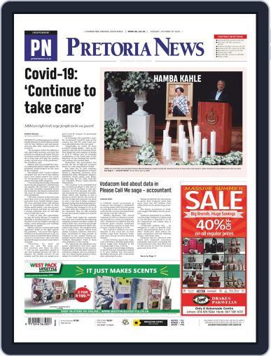Pretoria News October 20th, 2020 Digital Back Issue Cover