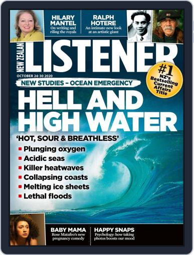 New Zealand Listener October 24th, 2020 Digital Back Issue Cover