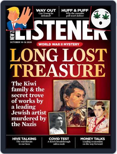 New Zealand Listener (Digital) October 1st, 2020 Issue Cover