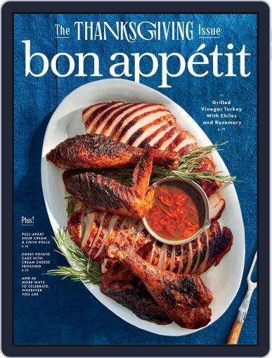 Bon Appetit (Digital) November 1st, 2020 Issue Cover