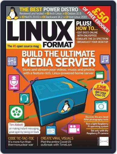 Linux Format (Digital) November 1st, 2020 Issue Cover
