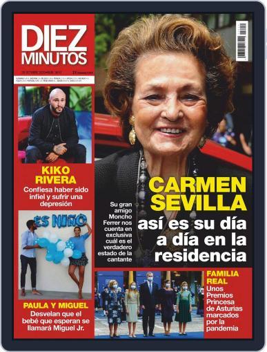 Diez Minutos (Digital) October 28th, 2020 Issue Cover