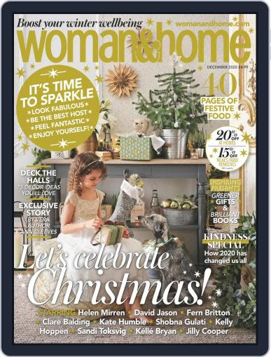 Woman & Home December 1st, 2020 Digital Back Issue Cover