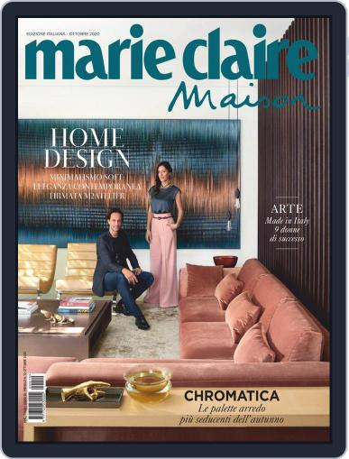 Marie Claire Maison Italia October 1st, 2020 Digital Back Issue Cover