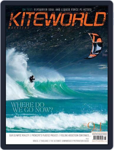 Kiteworld August 1st, 2018 Digital Back Issue Cover