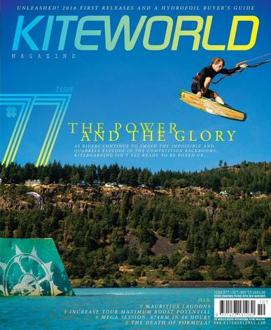 Kiteworld October 1st, 2015 Digital Back Issue Cover