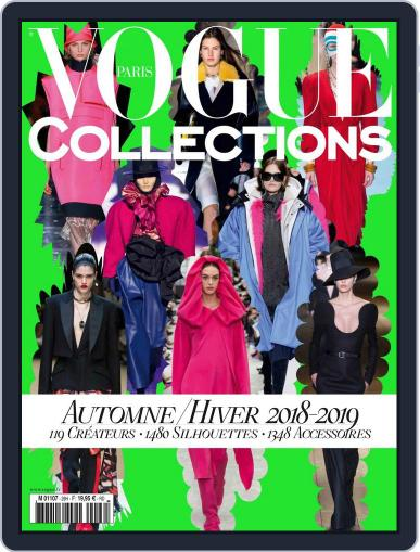 Vogue Collections April 1st, 2018 Digital Back Issue Cover