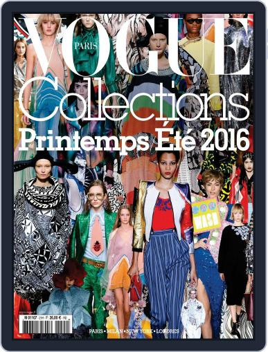 Vogue Collections January 1st, 2016 Digital Back Issue Cover