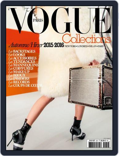 Vogue Collections April 23rd, 2015 Digital Back Issue Cover