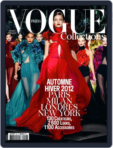 Vogue Collections December 20th, 2011 Digital Back Issue Cover