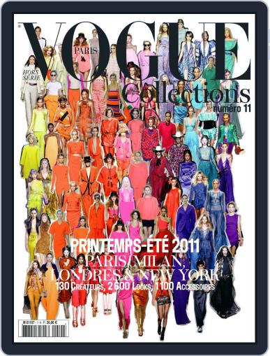 Vogue Collections December 11th, 2011 Digital Back Issue Cover