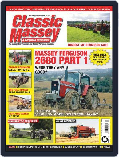 Classic Massey & Ferguson Enthusiast (Digital) November 1st, 2020 Issue Cover