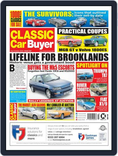 Classic Car Buyer (Digital) October 21st, 2020 Issue Cover