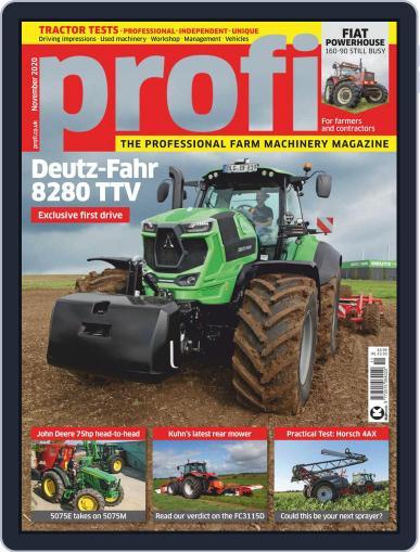 Profi (Digital) November 1st, 2020 Issue Cover