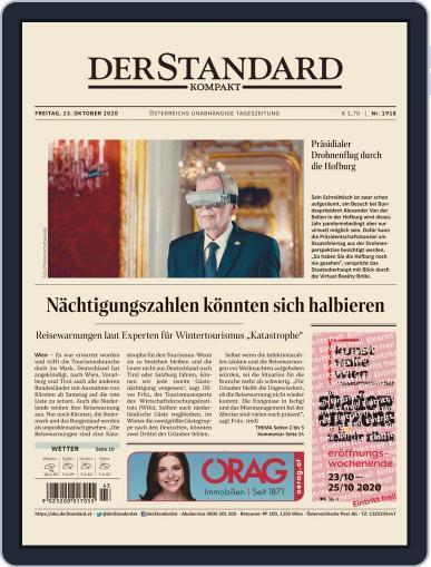 STANDARD Kompakt (Digital) October 23rd, 2020 Issue Cover