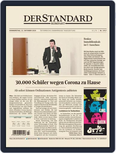STANDARD Kompakt (Digital) October 22nd, 2020 Issue Cover