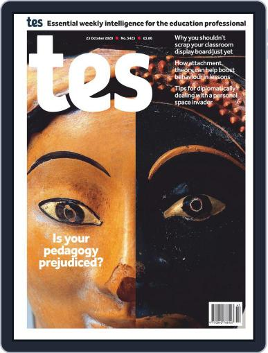 Tes (Digital) October 23rd, 2020 Issue Cover