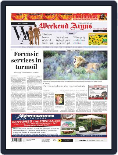 Weekend Argus Saturday October 24th, 2020 Digital Back Issue Cover