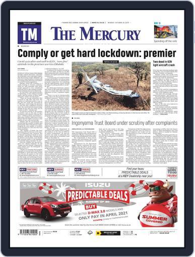 Mercury (Digital) October 26th, 2020 Issue Cover