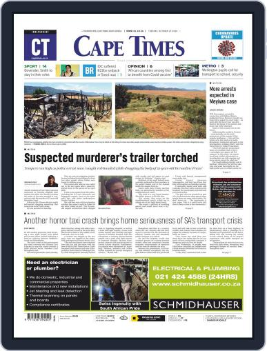 Cape Times (Digital) October 27th, 2020 Issue Cover