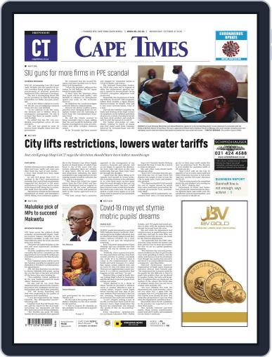 Cape Times (Digital) October 21st, 2020 Issue Cover